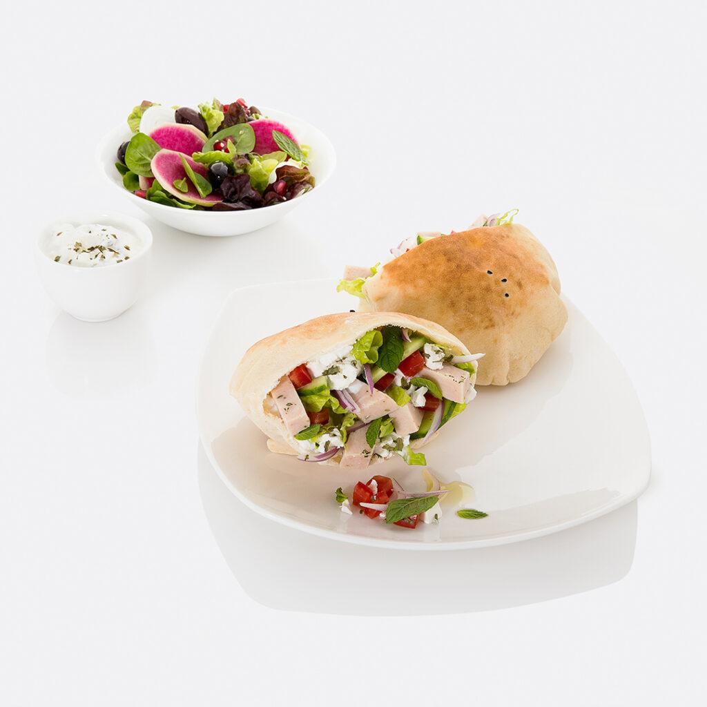 Chicken Gyros Sandwish by Tanmia