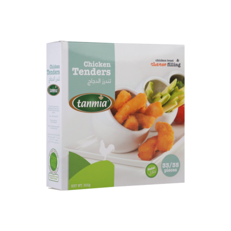 from Tanmia Kitchen Chicken Tenders in packaging
