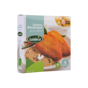 from Tanmia Kitchen chicken Escalope in packaging